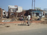 On the road to agra