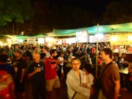 Crowded at the night market!