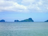 The helicopter island from the other side... still more liek a whale.. haha