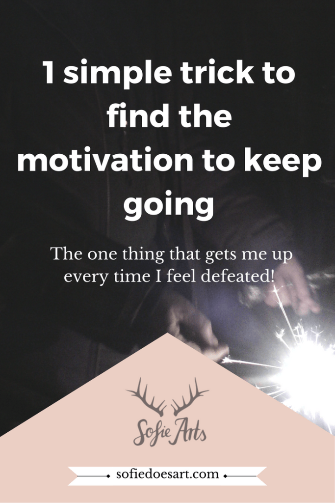 Every journey has ups and downs. But how do you find the motivation to keep going?