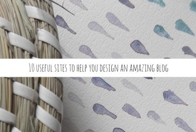 10 usefull sites to help you design an amazing blog