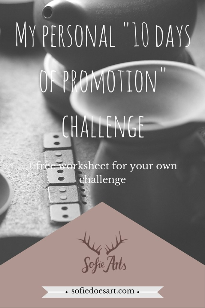 Score your own free worksheet right now and try it out for yourself. 10 days of promotion is the boost that can bring your blog to life again. It is all about getting yourself out there!