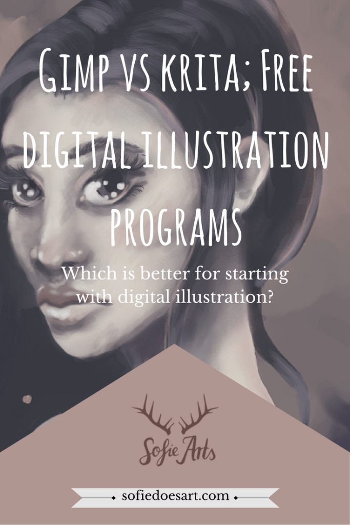 Looking for a free illustration program to try out digital illustration? Let me show you which is better to start with Gimp or Krita!
