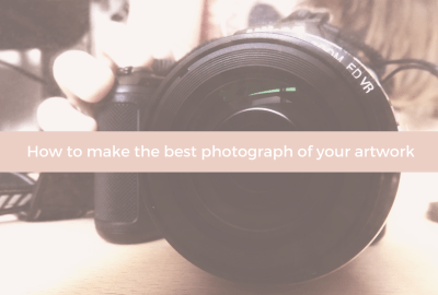 How to make the best photograph of your artwork