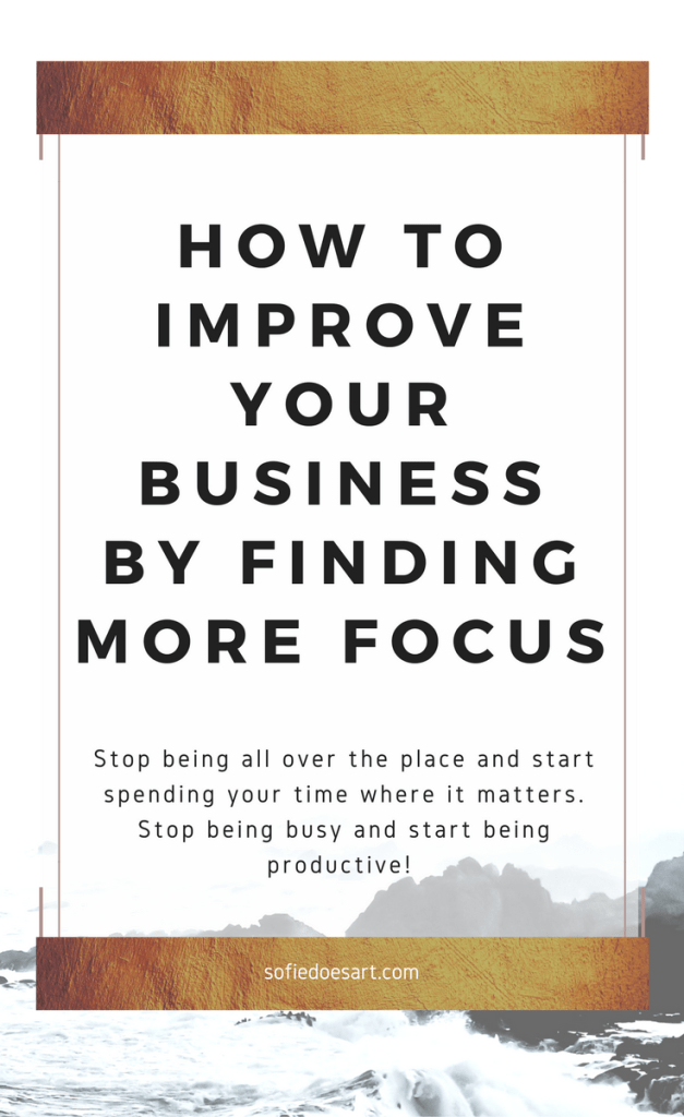 Read the blog post to learn how to be more focused and how it can benefit your business and blog. Increase your productivity, achieve goals and get more done. How to stay focused on your blogging and business and stop wasting your time. Crush your goals this year by improving your focus