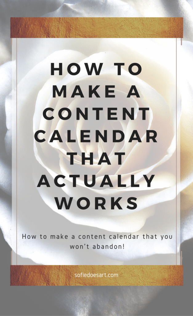 How to create a content calendar that actually works for you. How to fill it, automate it and top tips to maintain the content calendar of your dreams. Stay more organised and start having a successful blog!