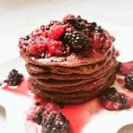 Schoko-Protein Pancake – Fitness Rezept – lowcarb, zuckerfrei