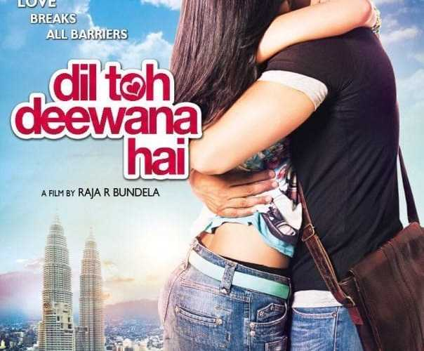 "Poster for the movie ""Dil Toh Deewana Hai"""
