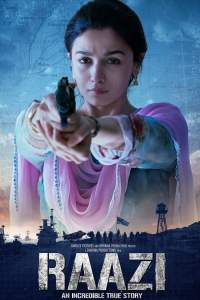 """Poster for the movie """"Raazi"""""""