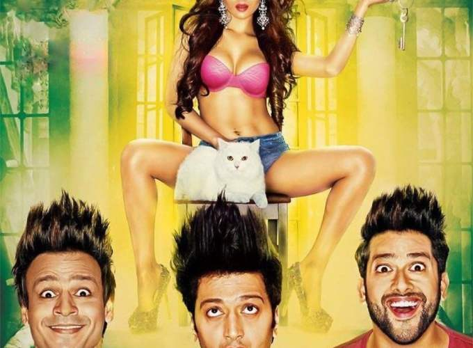 """Poster for the movie """"Great Grand Masti"""""""