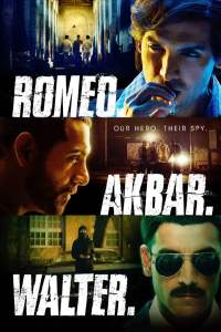 "Poster for the movie ""Romeo Akbar Walter"""