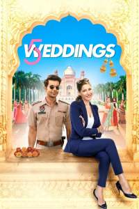 "Poster for the movie ""5 Weddings"""