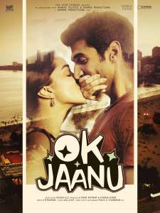 """Poster for the movie """"Ok Jaanu"""""""