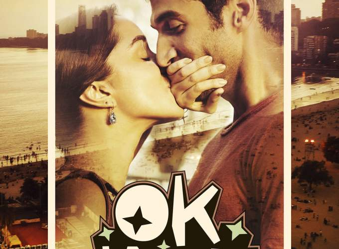 "Poster for the movie ""Ok Jaanu"""
