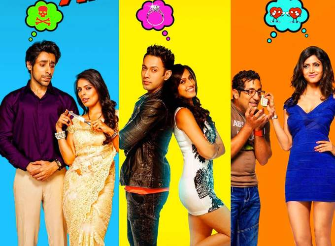 "Poster for the movie ""Hai Apna Dil Toh Awara"""