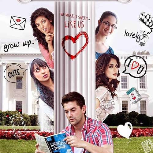 """Poster for the movie """"Ishqeria"""""""