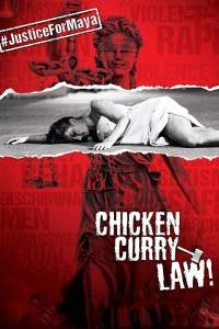 """Poster for the movie """"Chicken Curry Law"""""""