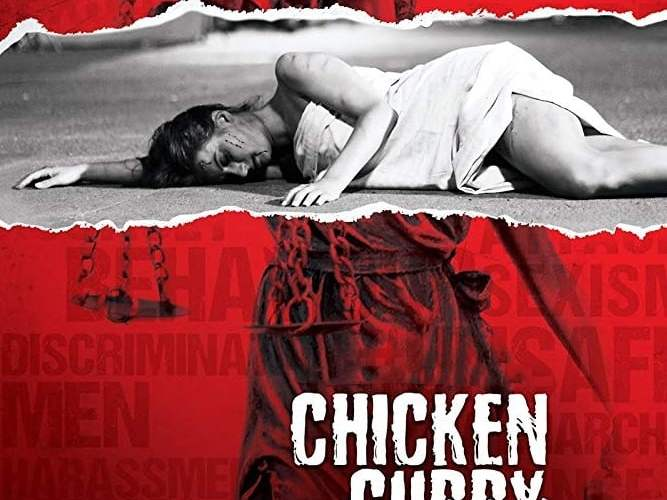 "Poster for the movie ""Chicken Curry Law"""