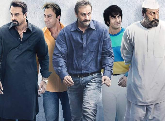 "Poster for the movie ""Sanju"""
