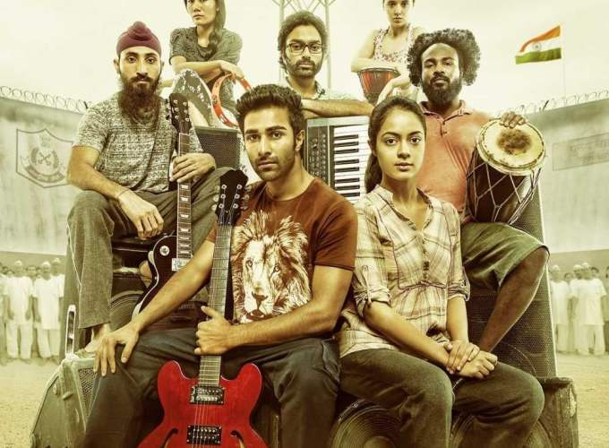 """Poster for the movie """"Qaidi Band"""""""