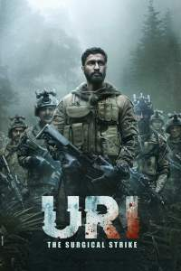"Poster for the movie ""Uri: The Surgical Strike"""