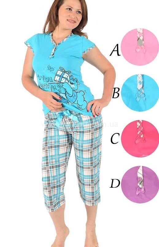 Пижама женская Капри 92077