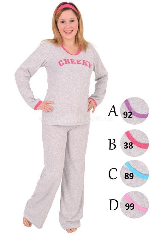 Пижама женская брюки Chekky 2061910881