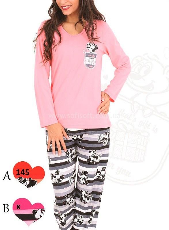 Пижама женская брюки 0847