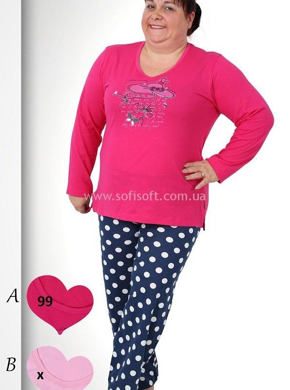 Пижама женская брюки 3091570882