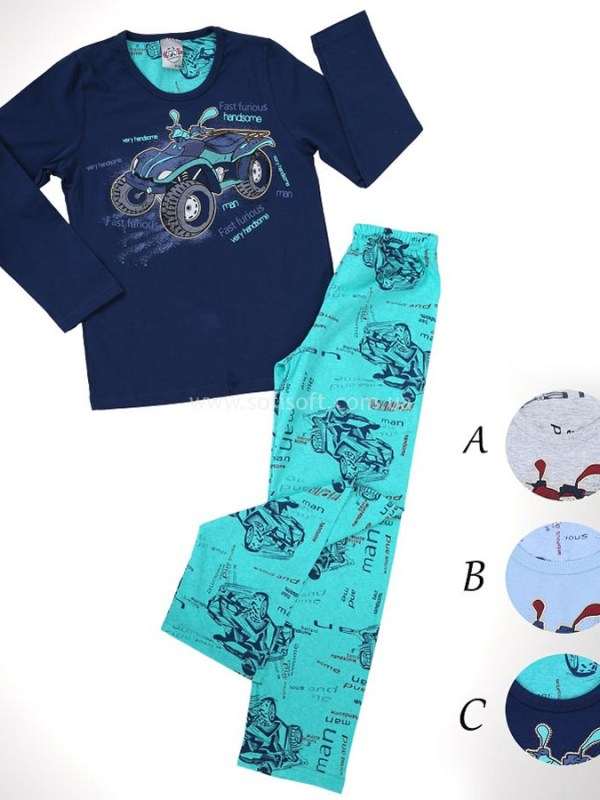 Пижама детская мальчик 8680646012159