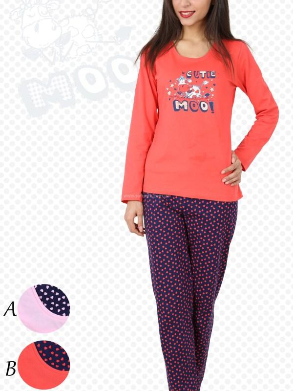 Пижама женская брюки 4030484318