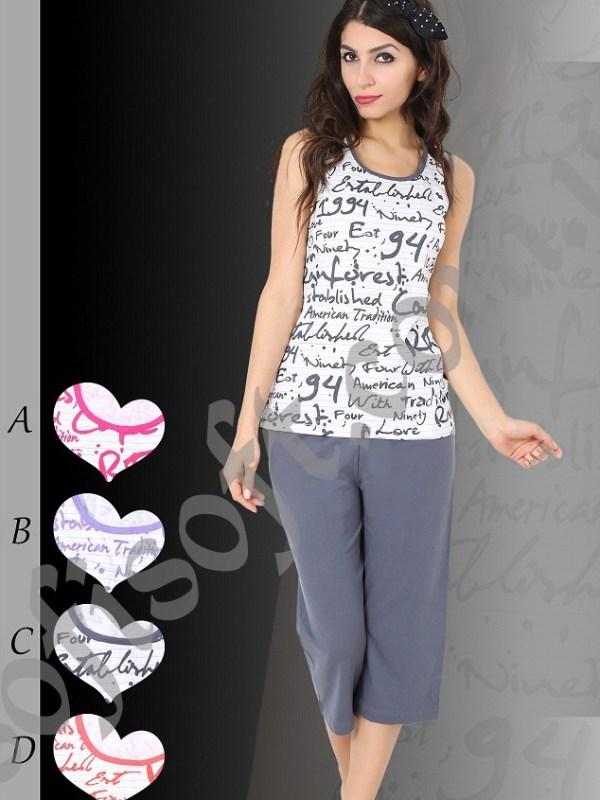 Пижама женская Капри 8680646000941
