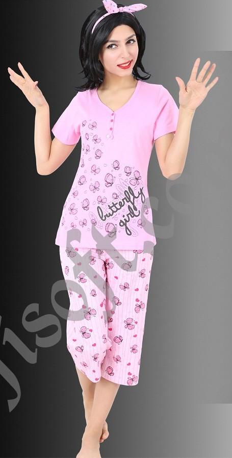 Пижама женская Капри 8680646001016