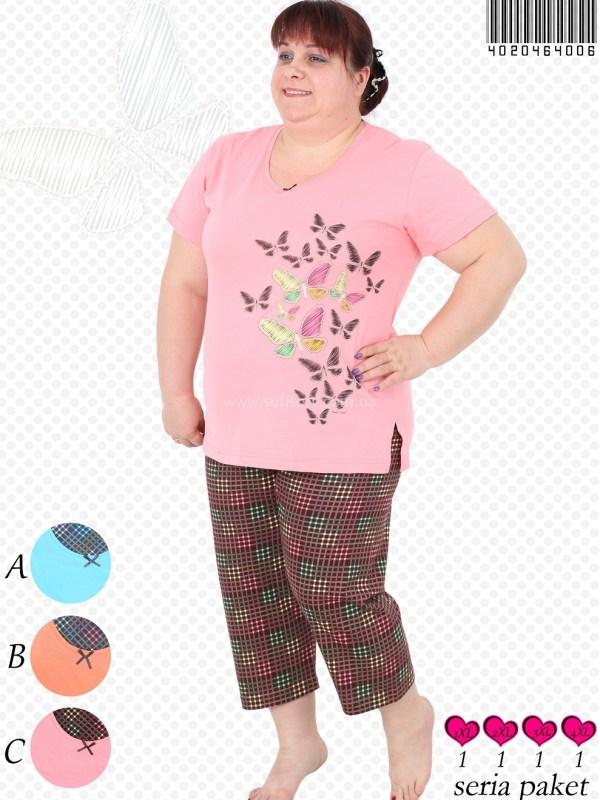 Пижама женская Капри 4020464006