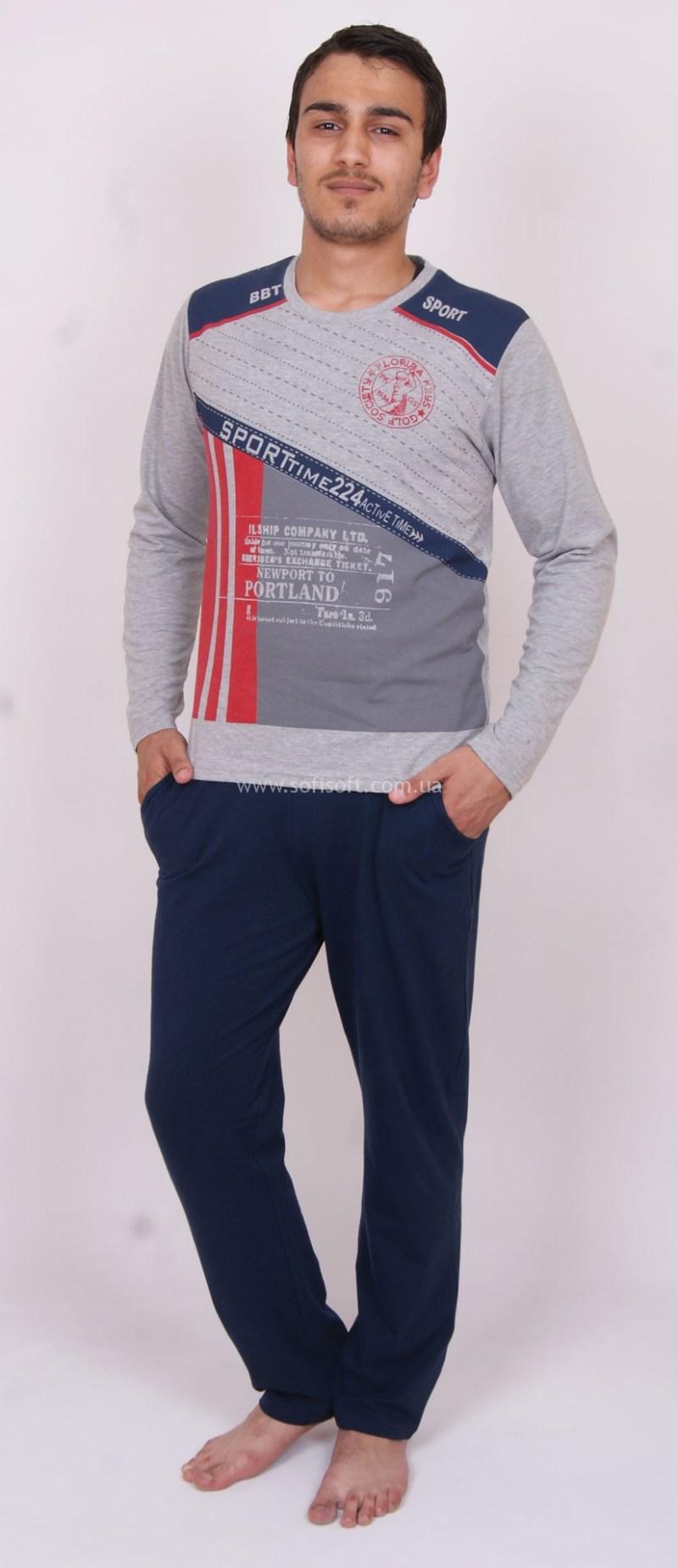 Пижама мужская Nicoletta 93024