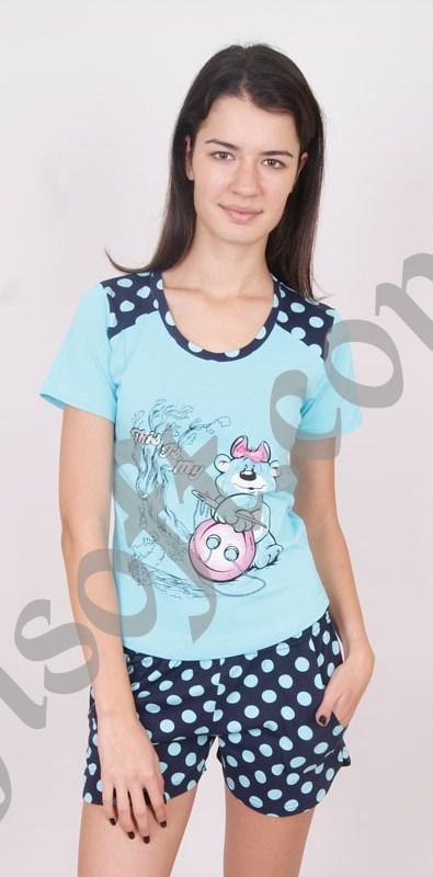 Пижама женская шорты Nicoletta 4 80506