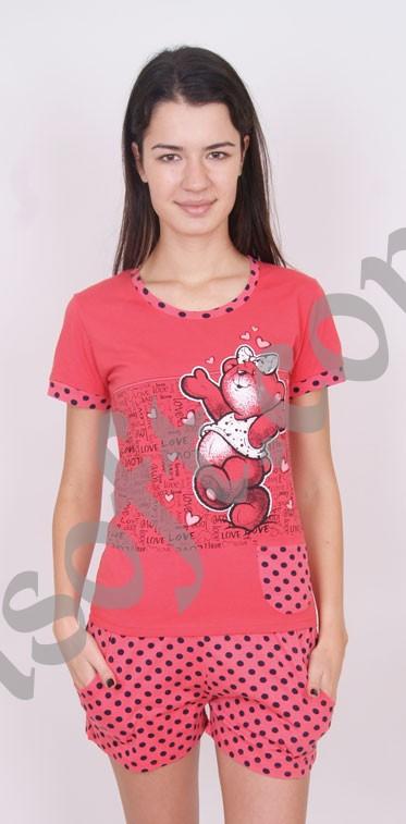 Пижама женская шорты Nicoletta 4 80507