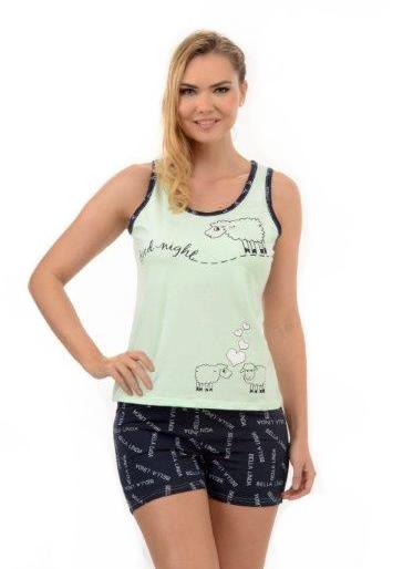 Пижама женская шорты Metin 8202