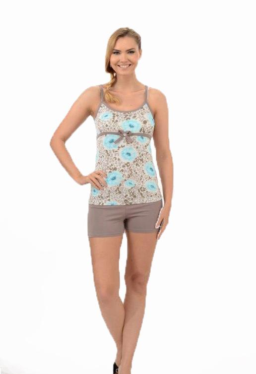 Пижама женская шорты Metin 8214