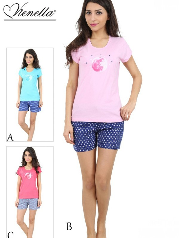 Пижама женская шорты 4080594700