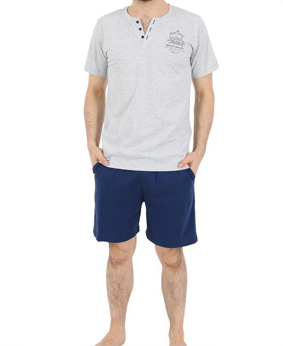 Пижама мужская шорты 4121484811
