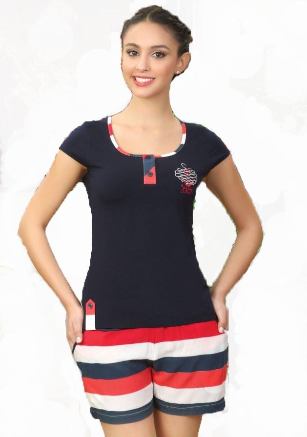 Костюм женский шорты Cocoon 13-760 Y
