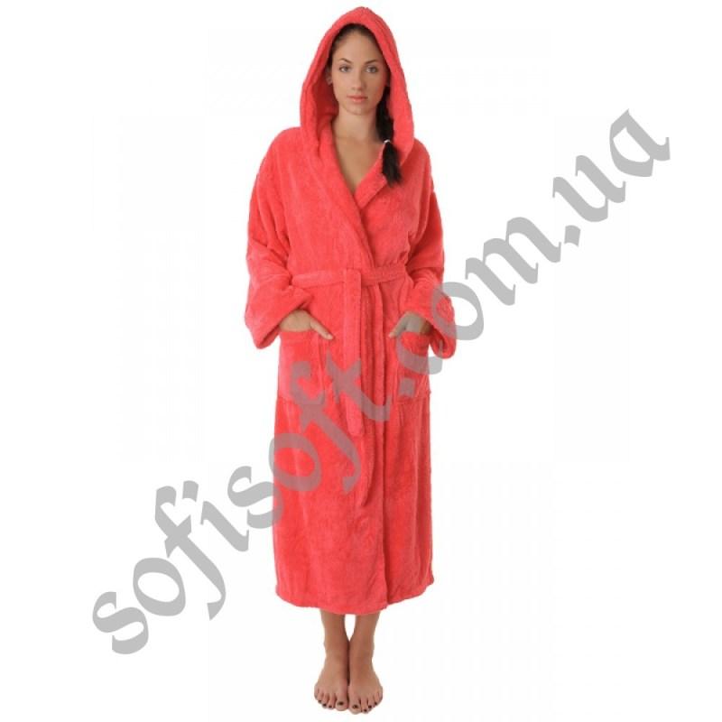 Махровый халат Sofi Soft 00815-3 манго