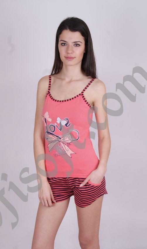 Пижама женская шорты Nicoletta 80494