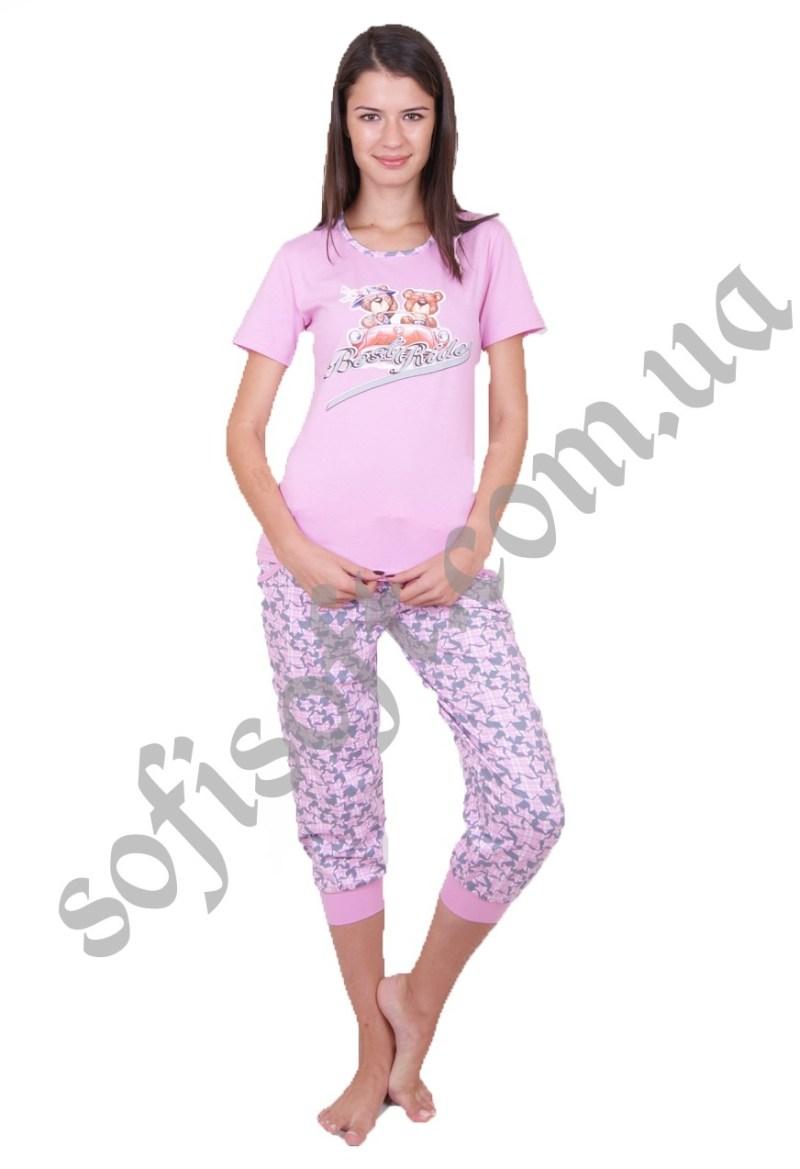 Пижама женская NIC2 45020 капри