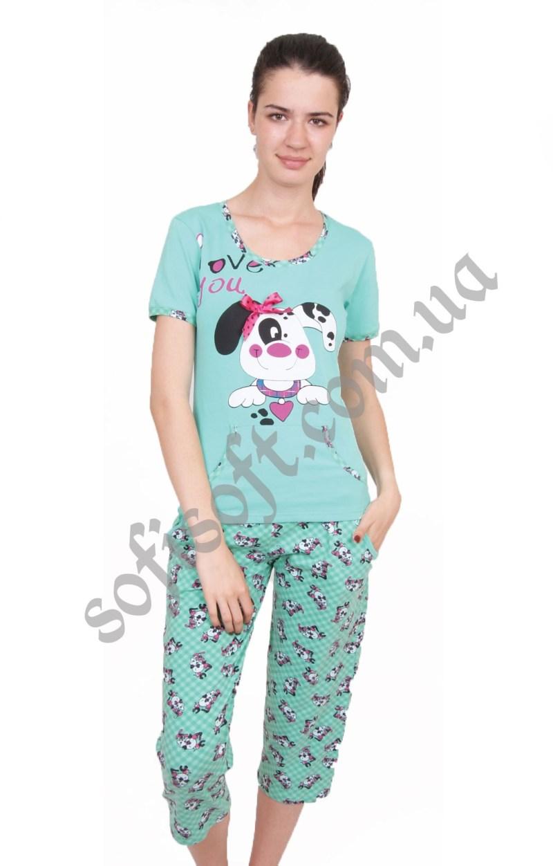 Пижама женская NIC4 82269 капри