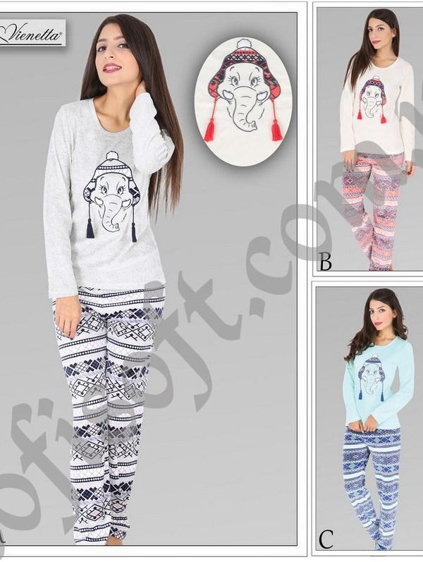 Пижама женская Велюр 5040255147