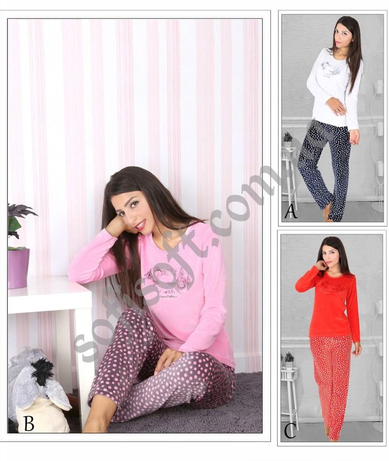 Пижама женская Велюр 5040724419