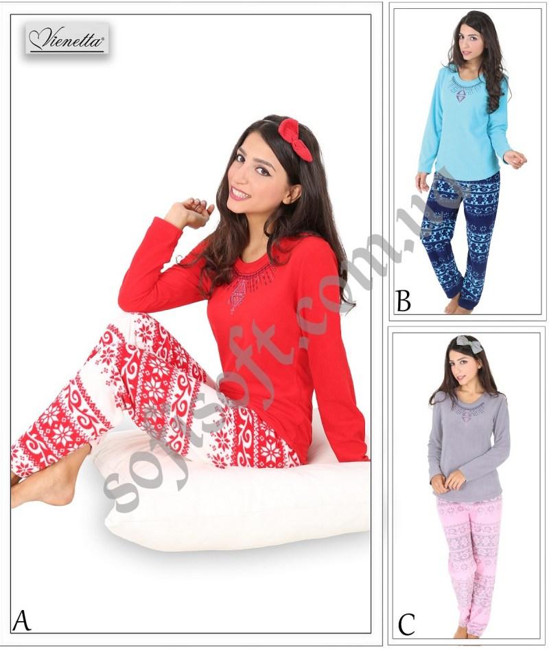 Пижама женская Флис 5040983206