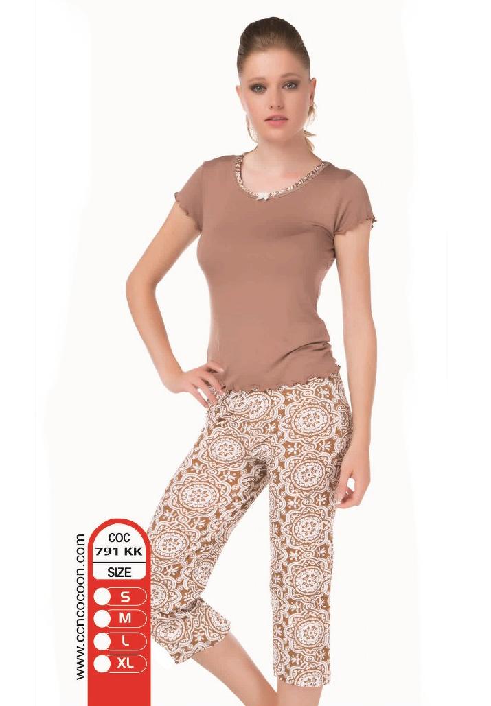 Пижама женская капри Cocoon 791 KK
